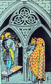 three of pentacles mundus volubilis