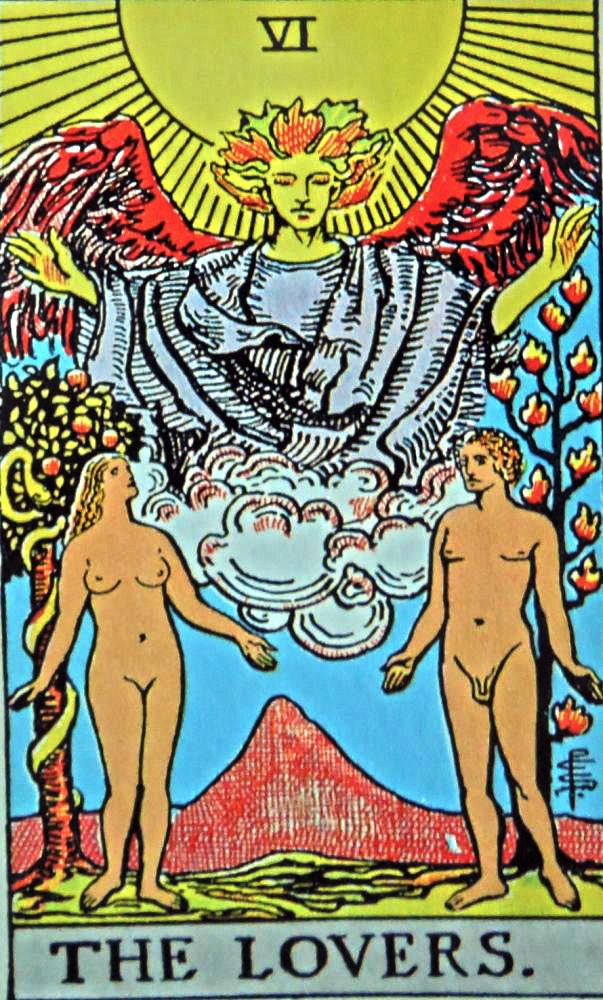 tarot - the lovers
